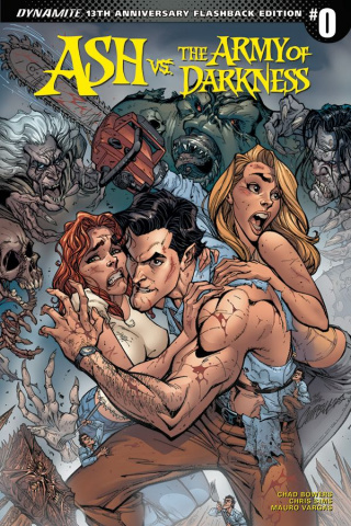 Ash vs. The Army of Darkness #0 (50 Copy Campbell Flashback Cover)