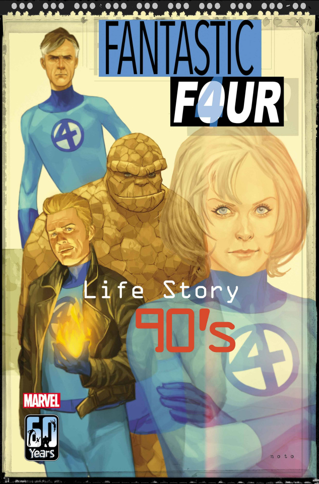Fantastic Four: Life Story #4 (Noto Cover)