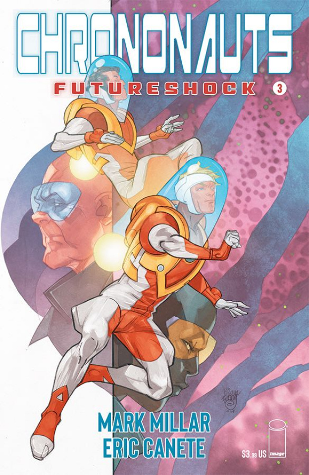 Chrononauts: Futureshock #3 (Ferry Cover)