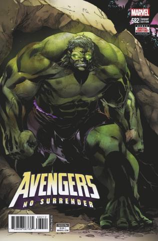 Avengers #682 (Izaakse 2nd Printing)