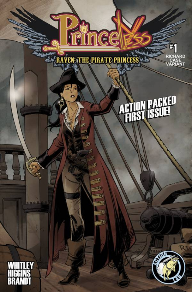 Princeless: Raven, The Pirate Princess #1 (Case Cover)