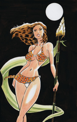 Cavewoman: The Dragon #1 (Durham Cover)