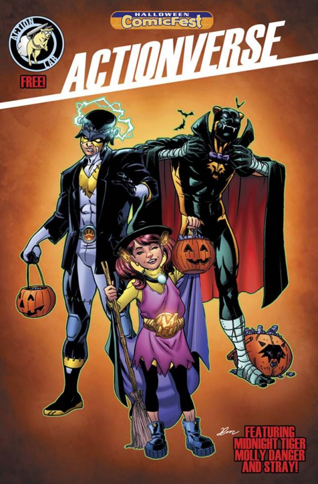 Actionverse (Halloween ComicFest 2015)