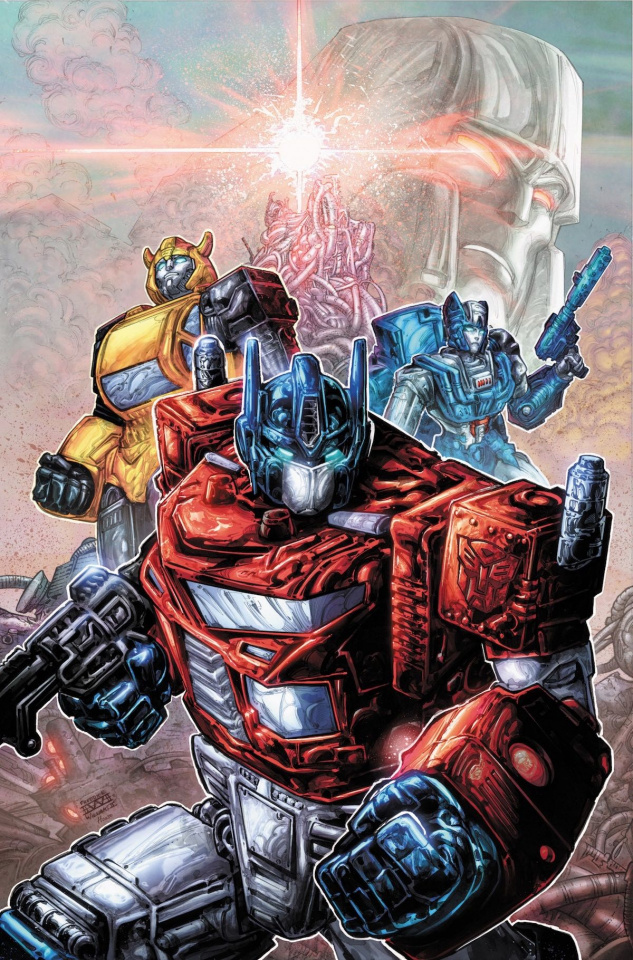 The Transformers #1 (25 Copy Williams Cover)