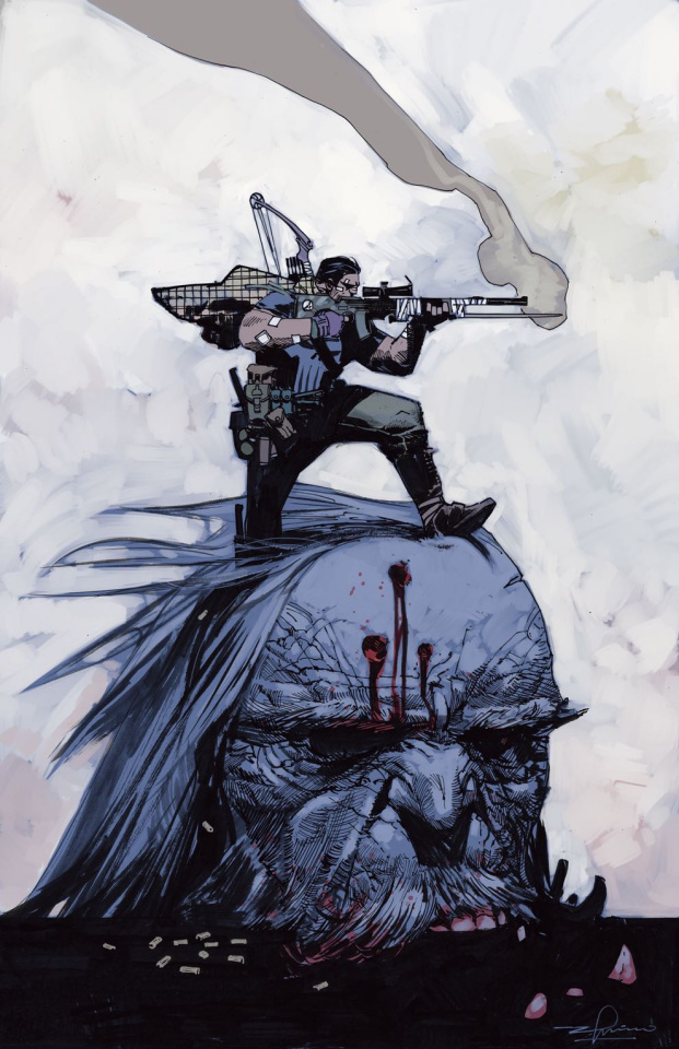 The War of the Realms: The Punisher #1 (Zaffino Cover)