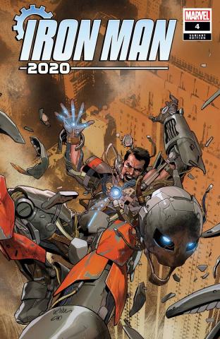 Iron Man 2020 #4 (Yu Cover)