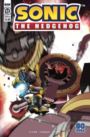 Sonic the Hedgehog #32 (Thomas Cover)