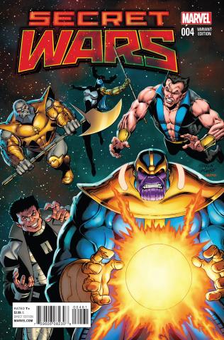 Secret Wars #4 (Starlin Cover)