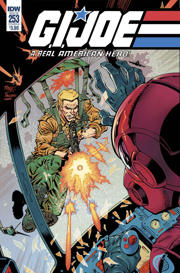 G.I. Joe: A Real American Hero #253 (Royle Cover)