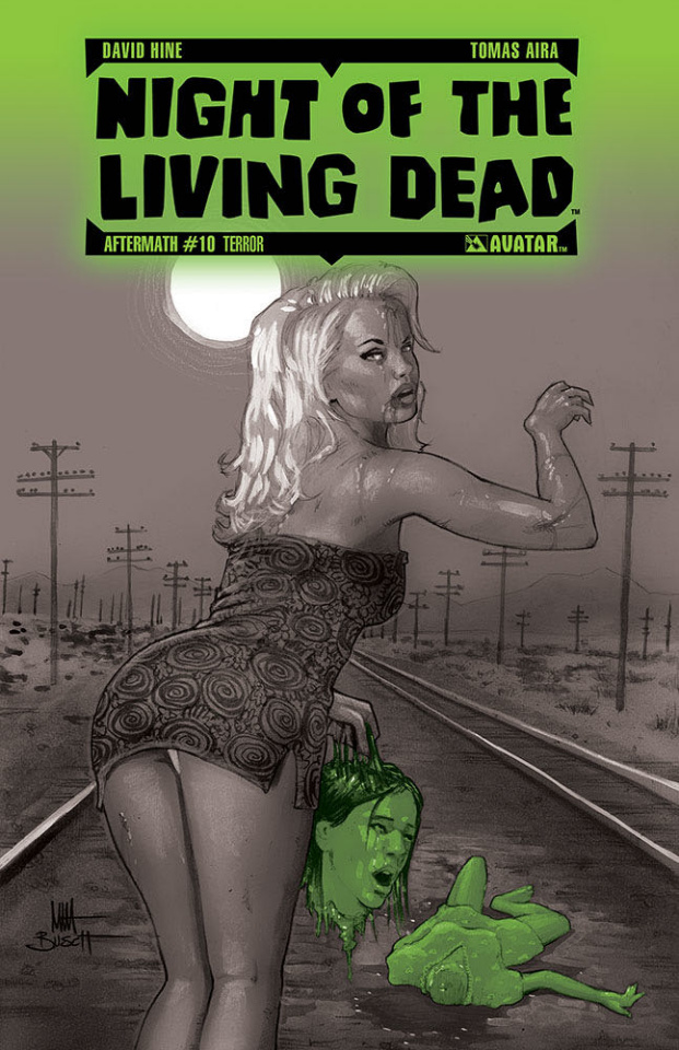 Night of the Living Dead: Aftermath #10 (Terror Cover)