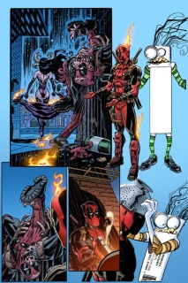 Deadpool #12 (Koblish Secret Comic Cover)