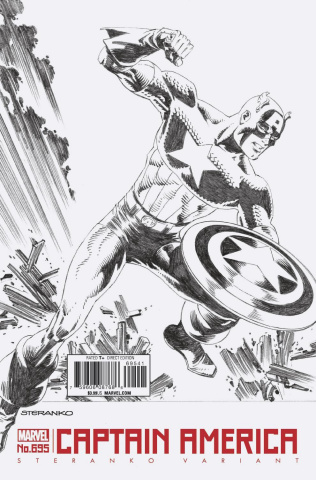Captain America #695 (Steranko Cover)