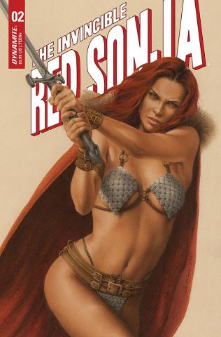 The Invincible Red Sonja #2 (Celina Cover)