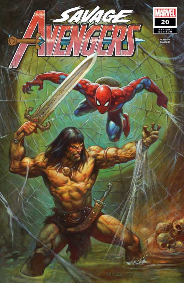 Savage Avengers #20 (Horley Cover)