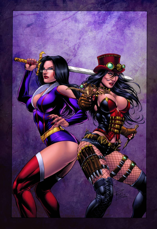 Grimm Fairy Tales: Hunters - Shadowlands #4 (King Cover)