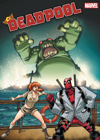 Deadpool #1 (Baldeon Cover)