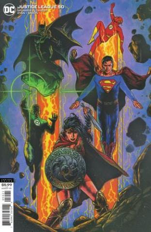 Justice League #50 (Travis Charest Cover)