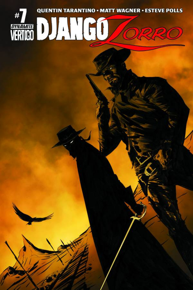 Django / Zorro #7 (Lee Cover)