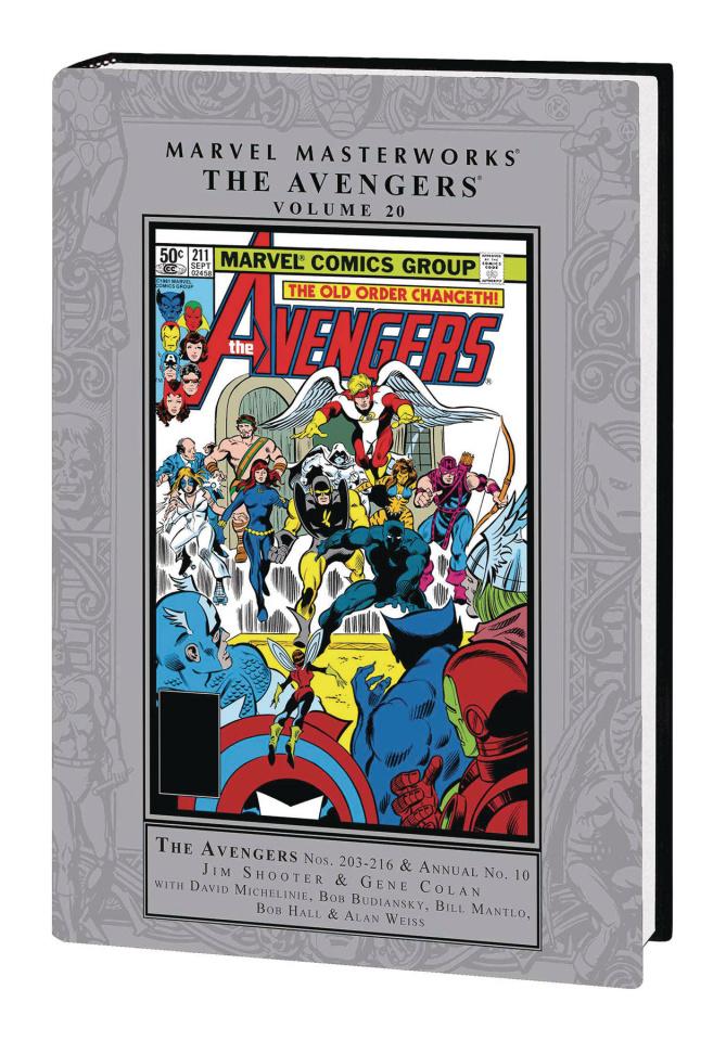 Avengers Vol. 20 (Marvel Masterworks)