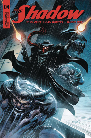 The Shadow #4 (Mandrake Cover)