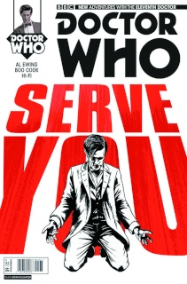 Doctor Who: New Adventures with the Eleventh Doctor #9 (Williamson Cover)