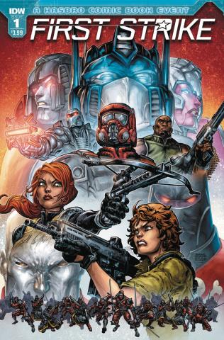 First Strike #1 (Williams II Cover)