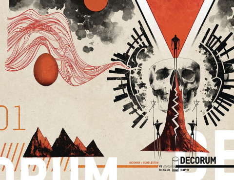 Decorum #1 (Huddleston Cover)