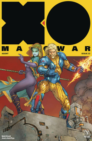 X-O Manowar #22 (Rocafort Cover)