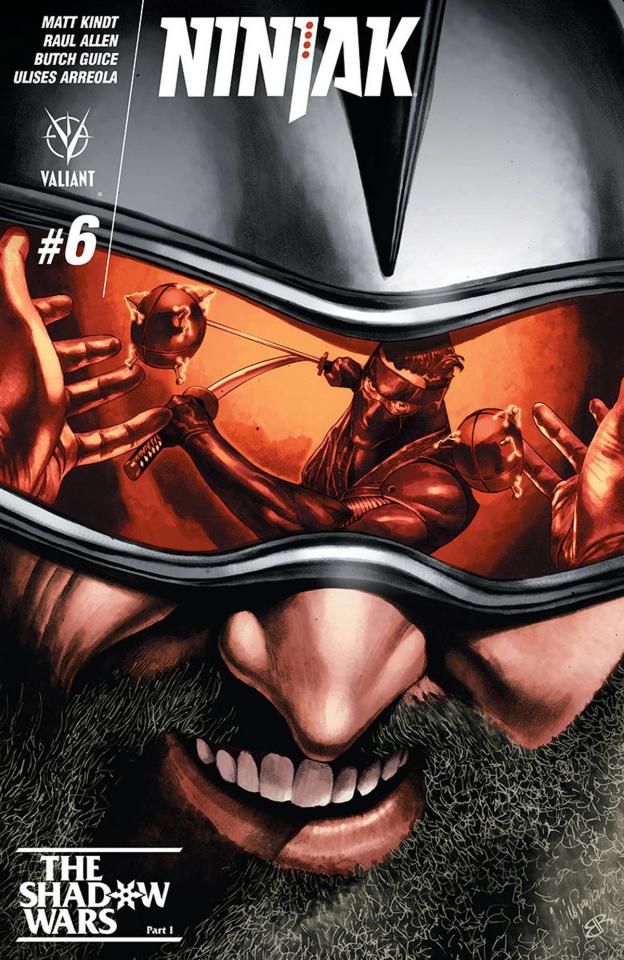 Ninjak #6 (Suayan Cover)