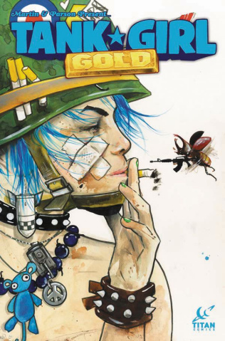 Tank Girl: Gold #1 (Lora Zombie Cover)