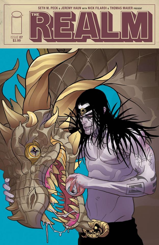 The Realm #7 (Rivas Cover)