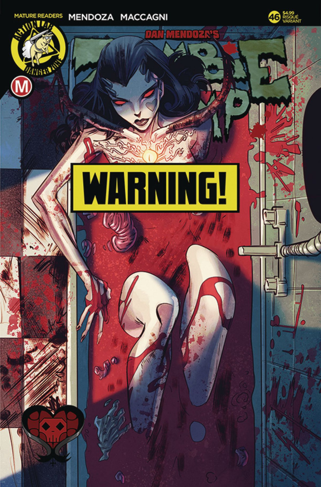 Zombie Tramp #46 (Celor Risque Cover)