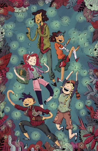 Lumberjanes #8 (20 Copy Cover)