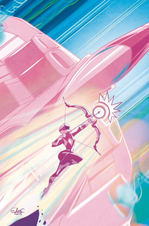 Mighty Morphin' Power Rangers: Pink #1