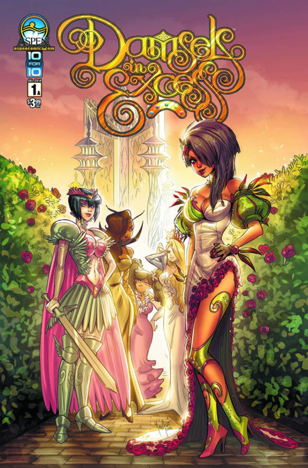 Damsels in Excess #1 (Cover A)