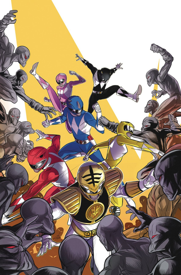 Go, Go, Power Rangers! #29 (Carlini Cover)