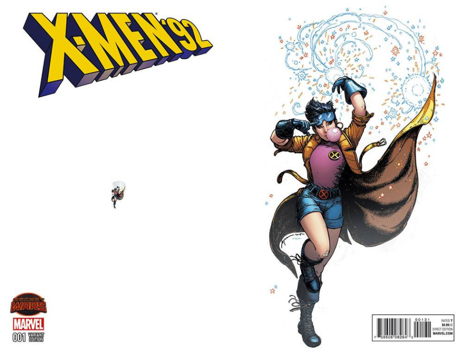X-Men '92 #1 (Chin Ant-Sized Cover)