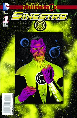 Sinestro: Future's End #1