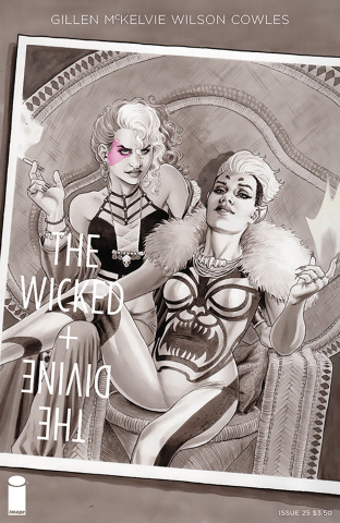 The Wicked + The Divine #26 (Scott Cover)