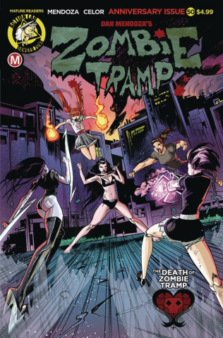 Zombie Tramp #50 (Celor Cover)
