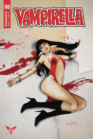 Vampirella #8 (Gunduz Cover)