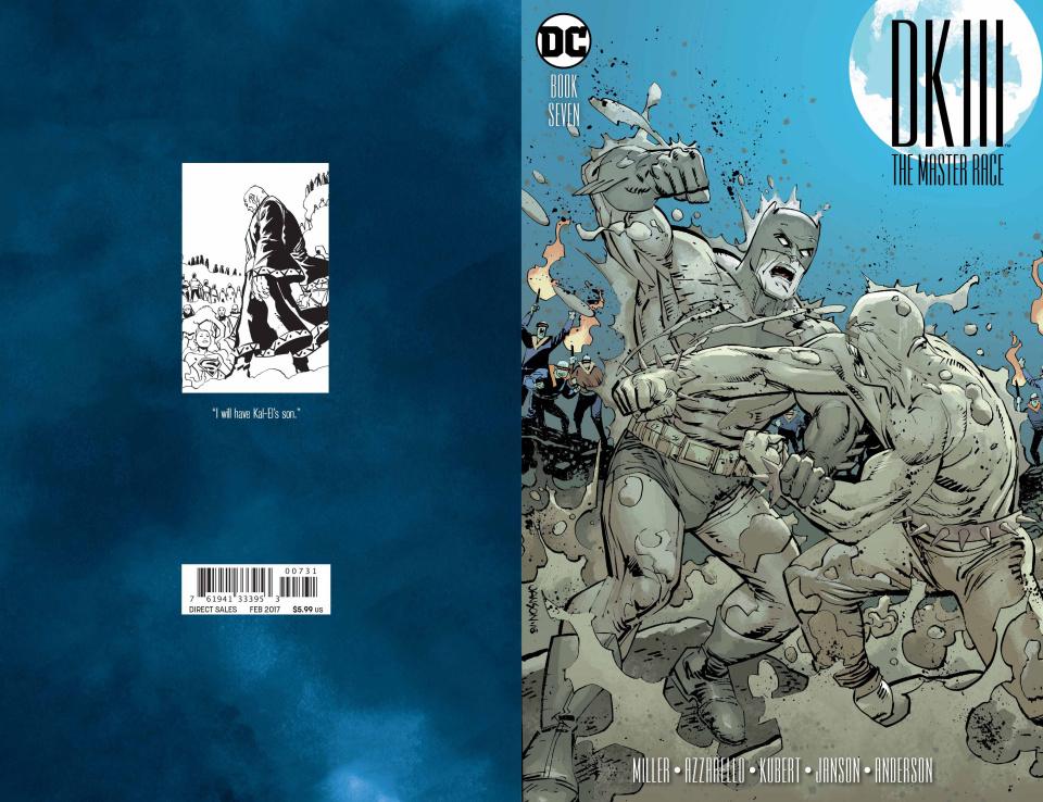 Dark Knight III: The Master Race #7 (Janson Variant Cover)