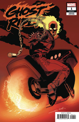 Ghost Rider #1 (Hidden Gem Cover)