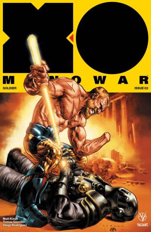 X-O Manowar #2 (Larosa Cover)