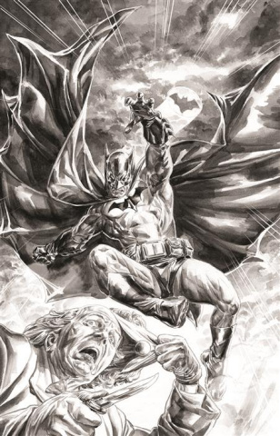 Batman: Black & White #2 (Doug Braithwaite Cover)