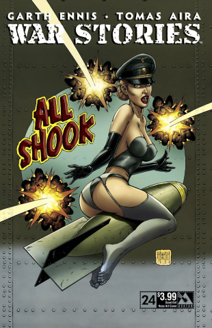 War Stories #24 (Good Girl Nose Art Cover)