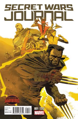 Secret Wars Journal #1 (Variant Cover)