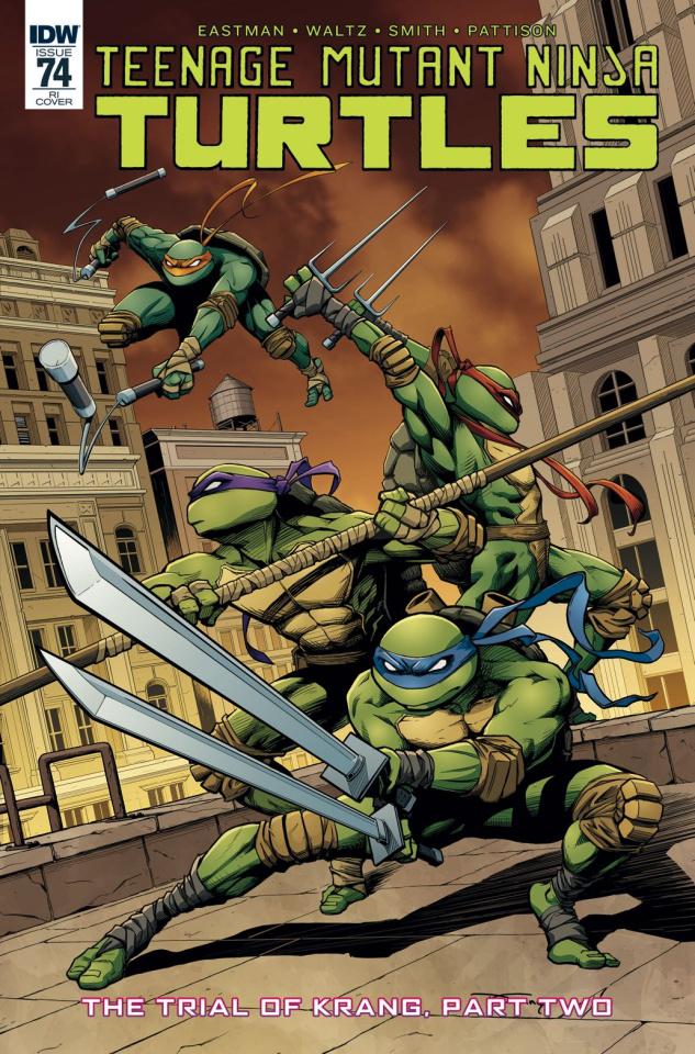 Teenage Mutant Ninja Turtles #74 (10 Copy Cover)