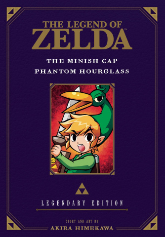 The Legend of Zelda Vol. 4: The Minish Cap & Phantom Hourglass (Legendary Edition)