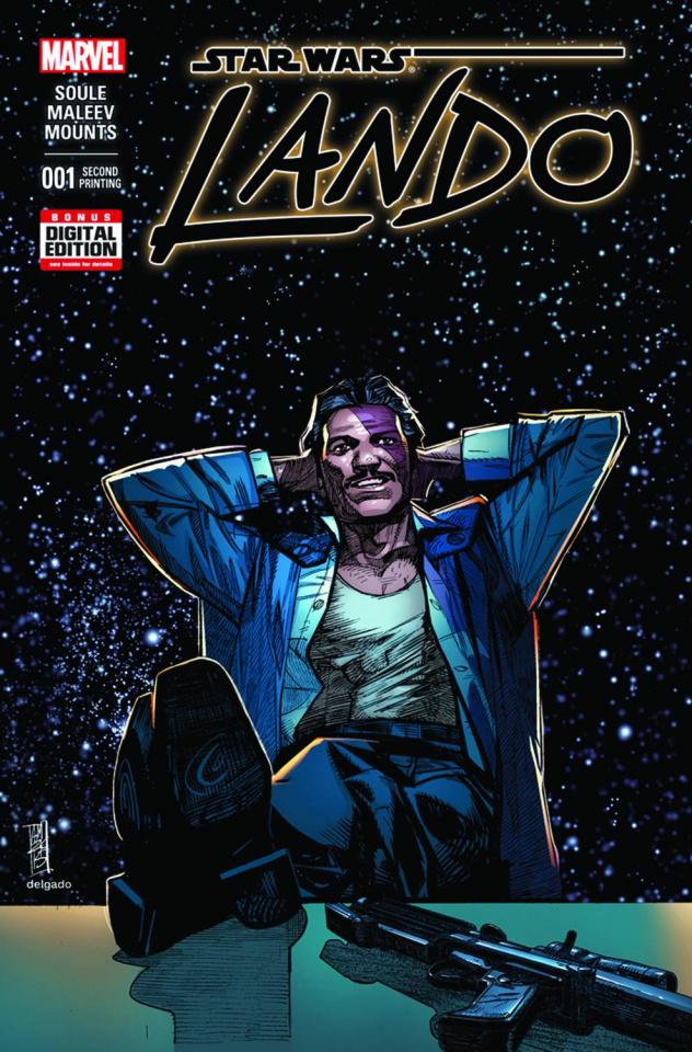 Star Wars: Lando #1 (Maleev 2nd Printing)